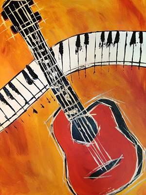 Love Of Music Original by Roberta Simmons