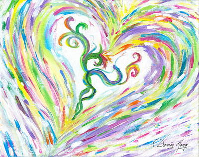 Painting - Love Of Parents Love Of Child by Denise Hoag