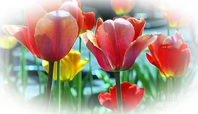 Love Of Tulips Art Print by Kathleen Struckle