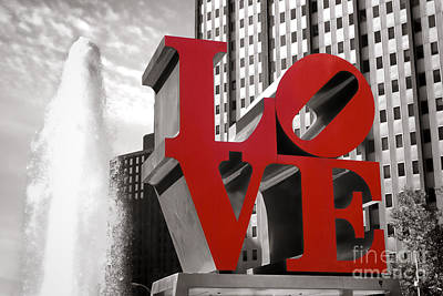 Phillies Photograph - Love by Olivier Le Queinec