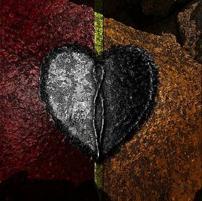 Love On The Line Art Print