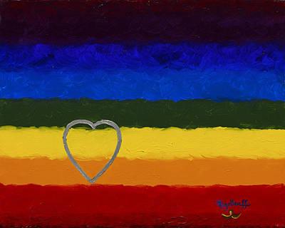 Painting - Love by Pat Heydlauff