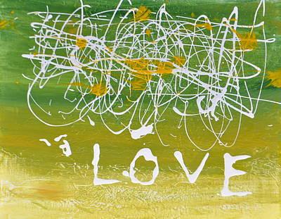 Patrick Painting - Love by Patrick McClellan