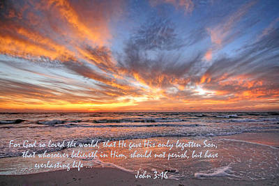 Bible Verse Photograph - Love Personified by HH Photography of Florida