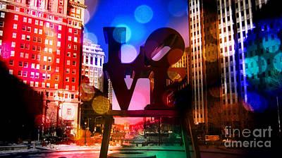Love-philly V2 Art Print