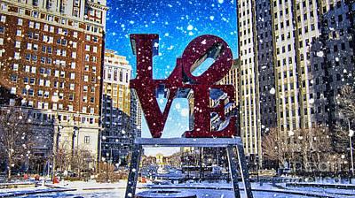 Love-philly V4 Art Print
