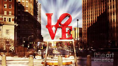 Love-philly V7 Art Print