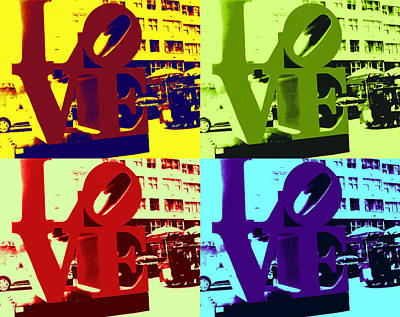 Love Pop Art Art Print