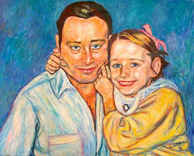 Painting - Love Portrait by Kendall Kessler