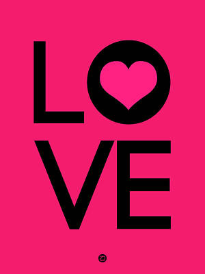 Love Digital Art - Love Poster 5 by Naxart Studio
