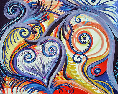 Andrea King Painting - Love Prevails by Andrea King