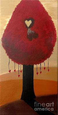 Painting - Love Pushes Through The Shadows by Jean Fry