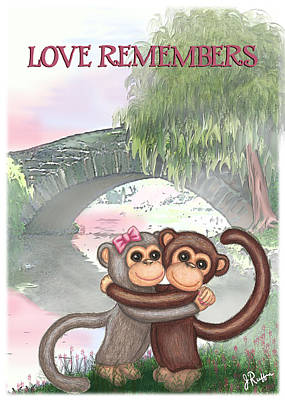 Love Remembers Art Print