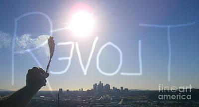 Photograph - Love Revolt by Drew Shourd