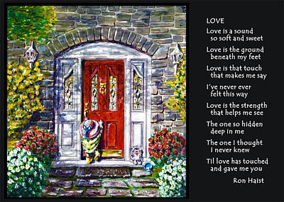 Painting - Love by Ron Haist