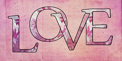 Love - S0102t Art Print by Variance Collections