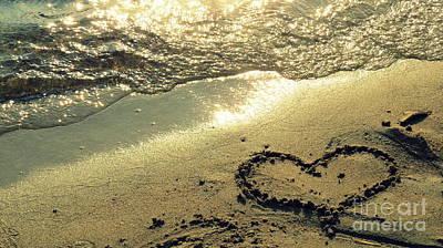 Photograph - Love Sand Beach by France Laliberte