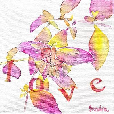 Painting - Love by Sandra Neumann Wilderman