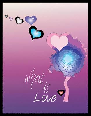 Love Art Print by Sara Ponte