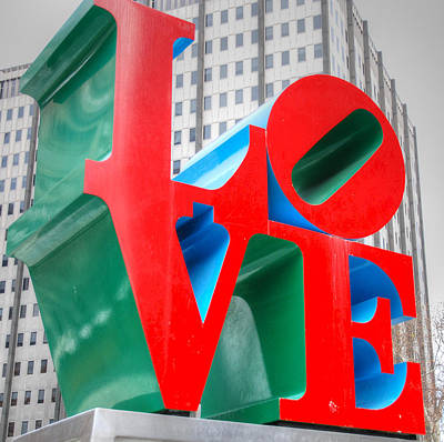 Love Sculpture Art Print