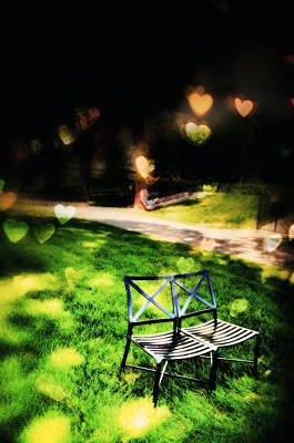 Photograph - Love Seat by Emily Stauring