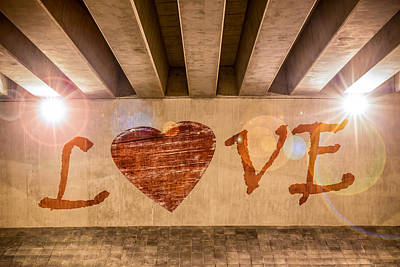 Photograph - Love by Semmick Photo