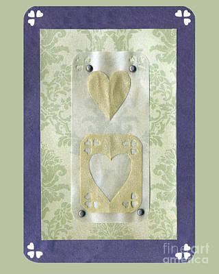 Old Masters - Love Series Collage - Heart 12  by Ellen Miffitt