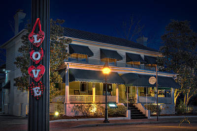Photograph - Love Smithfield Inn by Williams-Cairns Photography LLC