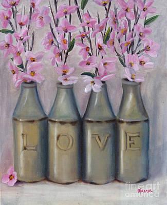 Love Springtime Original by Marnie Bourque