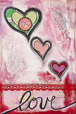 Mixed Media - Love  by Stanka Vukelic