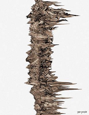 Rhythm And Blues Digital Art - Love Sting Theory Y 11 by Sir Josef - Social Critic -  Maha Art