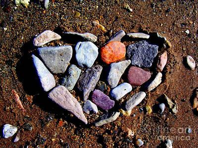 Love Stones Art Print by Janice Westerberg