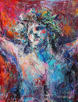 Jesus Art Painting - Love by Svetlana Novikova