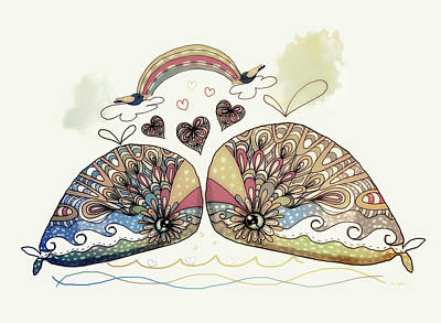 Love Sweet Love Art Print by Karin Taylor