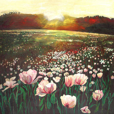 Painting - Love Swept Lands by Helen White