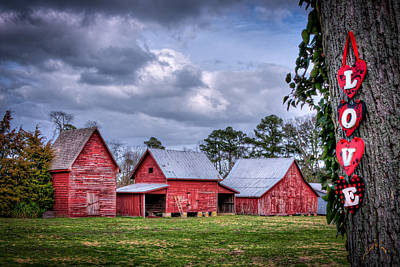 Love The Barns At Windsor Castle Art Print by Williams-Cairns Photography LLC