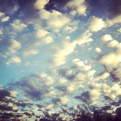 Skylines Wall Art - Photograph - Love The Clouds by Genevieve Esson