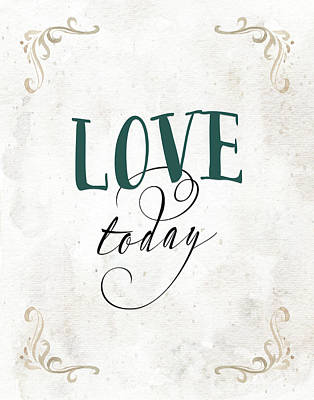 Painting - Love Today by Tara Moss
