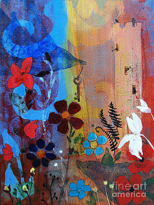 Painting - Love Tower by Robin Maria Pedrero