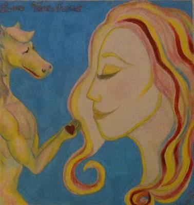 Love Transforms Art Print by Felicia Roberts