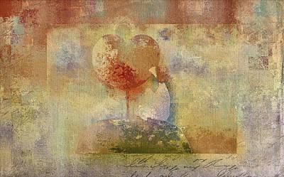 Aimelle Digital Art Digital Art - Love Tree 02-bt01bcr02 by Variance Collections