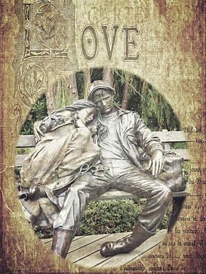 Photograph - Love Unending by Jordan Blackstone