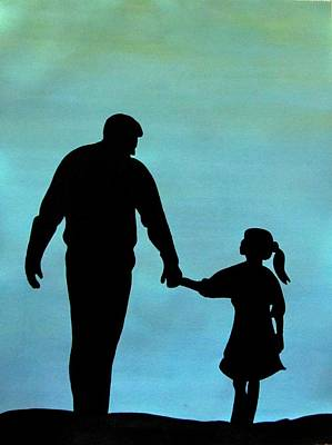 Painting - Love You Dad by Surbhi Grover