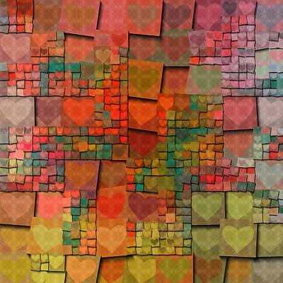 Be My Valentine Digital Art - Love You This Much by Bonnie Bruno
