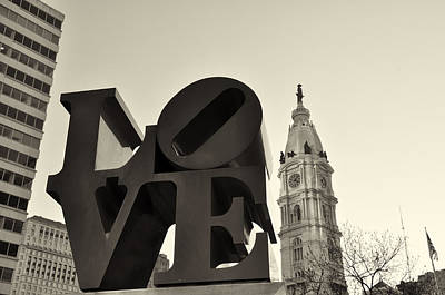 City Hall Digital Art - Love You Too by Bill Cannon