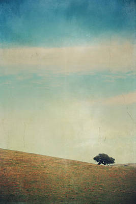 Textured Landscapes Digital Art - Love Your Own Company by Laurie Search