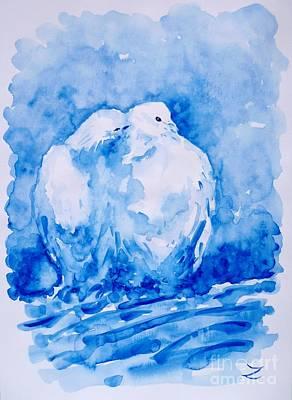Love  Art Print by Zaira Dzhaubaeva