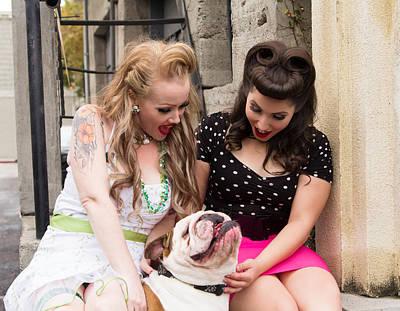 Bullie Photograph - Loveabull by Beth Wickham