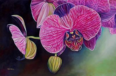 Lovebirds Print by Eve  Wheeler
