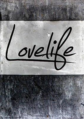 Lovelife Art Print by Heidi Smith